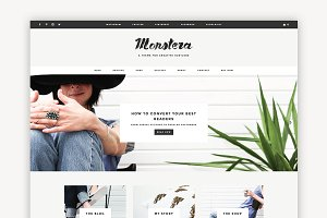 Monstera - A Creative Theme