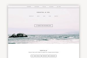 Coastal Multipurpose Theme