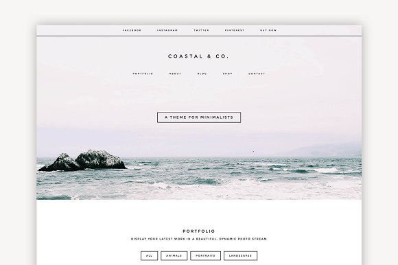 Coastal Multipurpose Theme