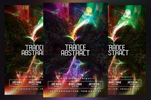 Trance Abstract Flyer