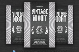 Vintage Night Flyer