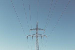Electricity High Voltage Line