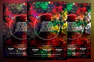 Xmas All Night Sound Flyer