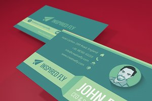 Green Stone - Business Card Template