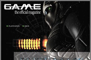 Gaming Magazine Cover