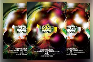 Big Mix All Night Bang Flyer