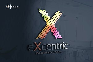 Excentric - Letter X Logo