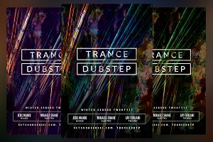 Trance Dubstep Flyer