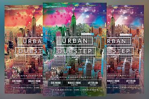 Urban Dubstep Flyer