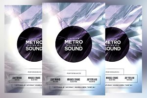 Metro Winter Mix Sound Flyer