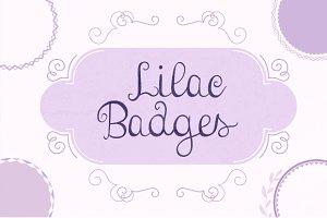 Lilac Badges