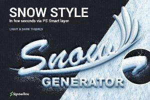 Snow Generator