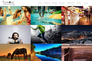 Diamond - WP Photographer Theme