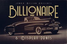 Billionaire - Display Font