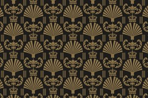 Art Deco design seamless pattern