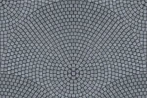 Granite cobbles seamless texture