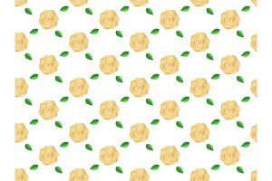 Flowers roses pattern seamless