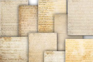 Old papers textures