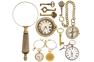 Golden Vintage Accessories