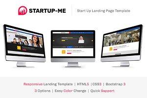 StartUp-Me HTML Landing Page