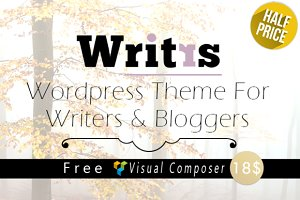 Writrs - Premium Wordpress Theme