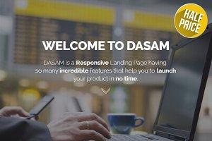 Dasam - HTML5 Landing Page