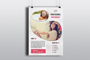 Photography Flyer Template-V566