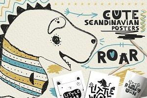 16 Scandinavian Posters