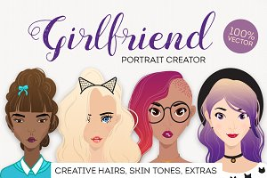 Girlfriend female portraite creator