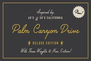 Palm Canyon Drive | Script & Glyphs