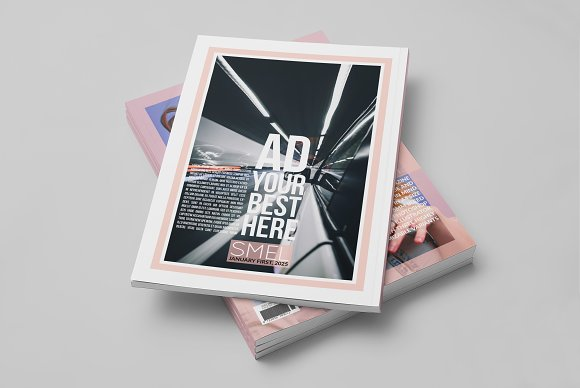 Smel - Magazine Cover Template in Magazine Templates - product preview 6