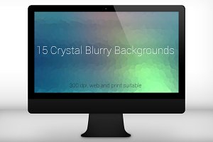 15 Crystal Blurry Backgrounds