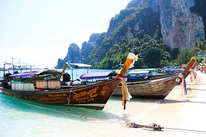 Boats in paradise