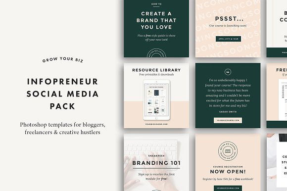 instagram layouts beautiful templates to design your own graphics creative market blog. Black Bedroom Furniture Sets. Home Design Ideas