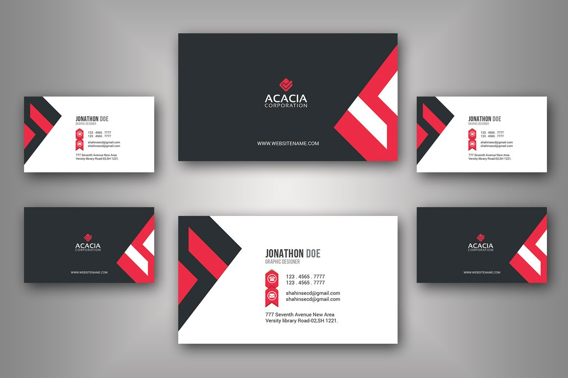 Creative business card business card templates creative market colourmoves