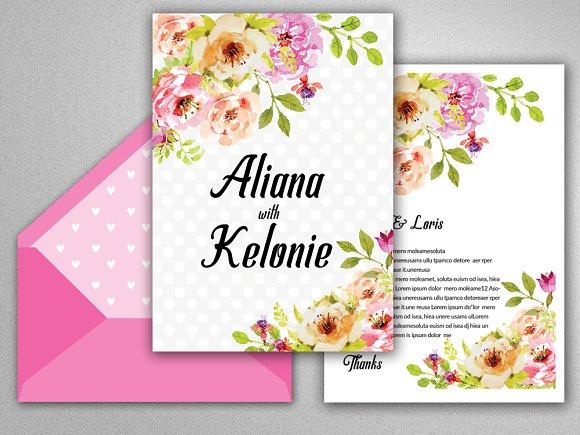 Wedding Invitation Editable Template