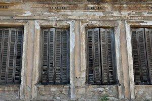 Window Shutters Wall