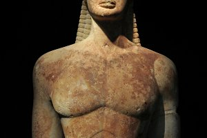 Ancient Kouros Statue