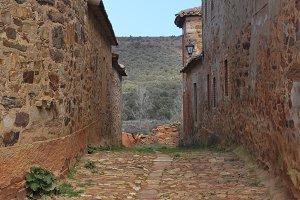 rural alley, Spain