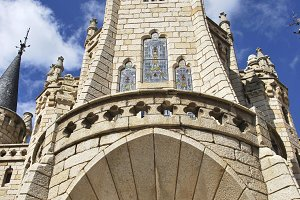 Episcopal Palace, Atorga, Spain