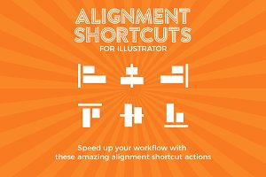 Alignment Shortcuts For Illustrator