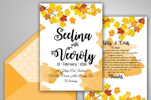 Wedding Invitation Editable Template