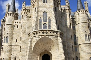 Palacio episcopal, Astorga, Spain