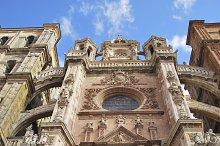 Facade of Astorga Cathedral