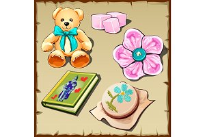 Toys and hobby items for girls