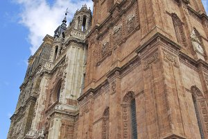 Towers of Astorga Cathedral