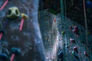 Dramatic Rock Climbing Walls