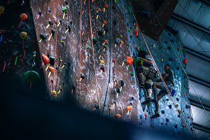 Indoor Rock Climbing Center