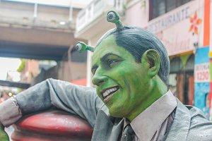 Carlos Gardel Alien