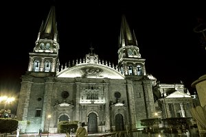 Historical church in Guadalajara